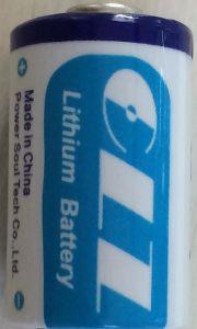 Thionyl van het lithium de Batterij van het Chloride (ER26500)