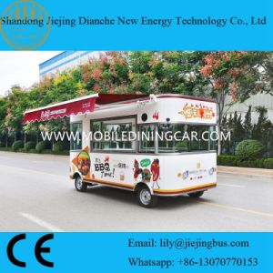 Elektrische Mobiele BBQ van Tekens Vrachtwagens voor Verkoop met Ce