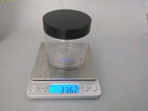 黒いカバーが付いているスクリーンによって印刷される装飾的なプラスティック容器