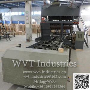 fc690a5d270 El contrachapado de madera automático embalaje de madera la línea de  producción de la Junta