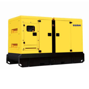 Perkins Engine Soundproof Diesel Generator의 20kVA Powered