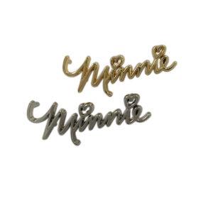 L'accessorio del raccoglitore fa il metallo su ordinazione marcare a caldo i piatti di marchio