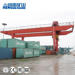 El modelo U Viga doble depósito de contenedores grúa pórtico 50 ton.