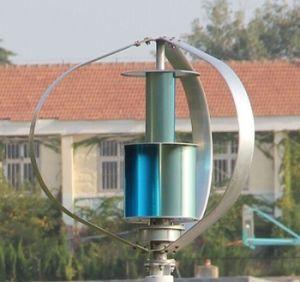 ¡Caliente! - de la turbina de viento vertical del eje del sistema de red 600W con las láminas de la aleación de aluminio