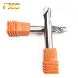 2 de alta qualidade flautas brocas Carbide ferramentas de corte de alumínio