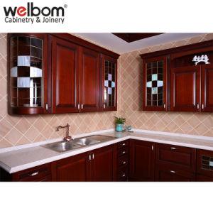 Het de Stevige Houten Keukenkast van Welbom/Meubilair van de Keuken