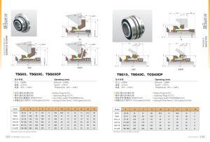 Flowserve SLC mechanische Robbe, Gpa Robbe, Schlamm-Pumpen-Robbe