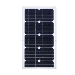 10W integrierte alle in einem Straßenlaterneder Sonnenenergie-LED