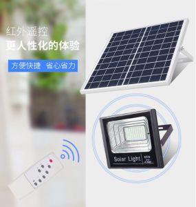 196 solaire lumière LED Lampe LED de jardin d'inondation solaire 100W Lumière solaire délibéré lumière solaire