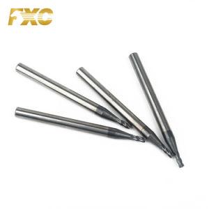 Venda a quente carboneto de tungsténio HRC45 Micro Moinho final para o aço de corte