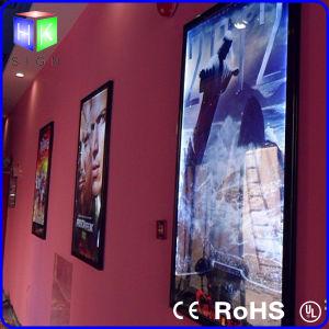 전시를 광고하는 조명된 표시 옥외 LED 영화 포스터