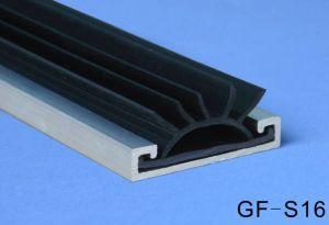 Алюминиевый корпус уплотнения для двери Gf-S16