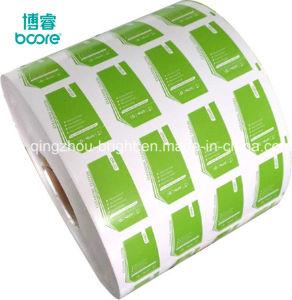 El papel de aluminio para pastillas de removedor de esmalte de uñas