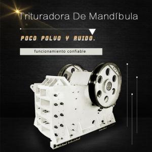 Frantoio a mascella PE500*750 per estrazione mineraria che schiaccia riga