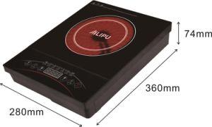 熱い超薄い二重円の赤外線炊事道具を販売する