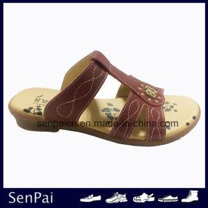 2018 Lady sandales occasionnels de nouvelle conception de chaussures de mode