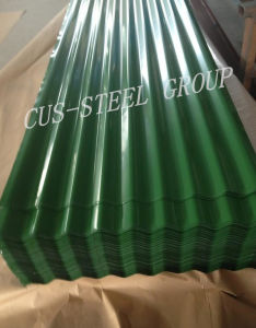 Tôle de toit de fer coloré/tuile de toit de métal galvanisé prélaqué