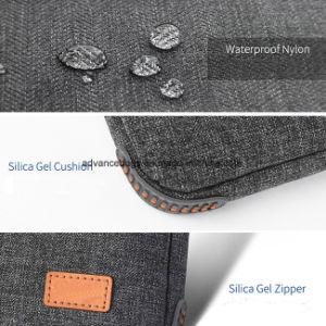 肩ひもが付いているカスタムノートパソコンのブリーフケース文書のラップトップ袋