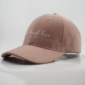 Tissu enduit personnalisé Casquette de baseball de loisirs Hat avec broderie pour la Promotion 6 panneaux