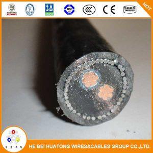 Yjv 0.6/1kv32 2*25mm2 Fil d'acier souterrain Armored Câble d'alimentation