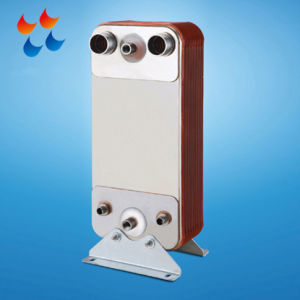 냉장 시스템 열회수 Pl210에 의하여 놋쇠로 만들어지는 격판덮개 열교환기