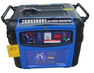3kw Silent Type Gleichstrom Gasoline Generators (ZGDC3300S)