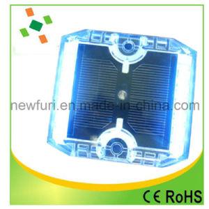 12PCS LED点滅の360度のプラスチック太陽道のスタッド