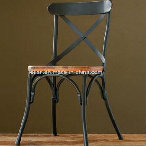 Resaturant Cafe Vintage Table et chaise de fer fixé pour mobilier de ...