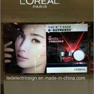 Cadre Photo Photo Présentoir publicitaire pour la boîte de lumière à LED