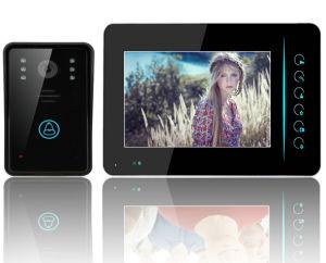7インチのタッチ画面の別荘のWiFiの相互通信方式のビデオドアの電話キット