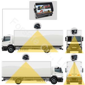 Systeem van uitstekende kwaliteit van de Camera van de Auto van de Vierling HD van 7 Duim Rearview