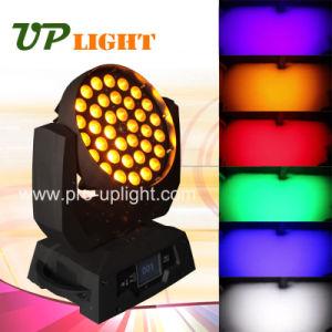 36X18W RGBWA紫外線6in1 LEDのズームレンズの移動ヘッドライト