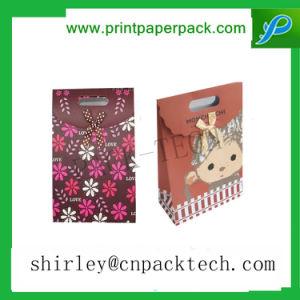 크리스마스에 의하여 주문을 받아서 만들어지는 다채로운 서류상 선물 쇼핑 백