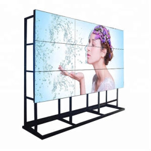 55pulgadas VGA LCD de 3,5 mm quiosco de panel de pared de vídeo HD con