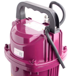 Monofase 1HP pompa ad acqua elettrica sommergibile da 4 pollici di diametro per il servizio della Bangladesh