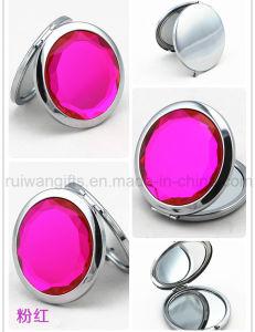 다이아몬드 Stainless Steel Pocket Mirror, Mirror 높은 쪽으로 Cosmetic Mirror Make