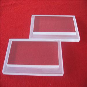 단계를 가진 깊은 가공된 주문 석영 유리 접시