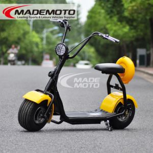 2016 New Big Wheel 500W Junior Citycoco Harley Scooter Elétrico