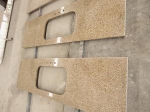 Countertop van het Graniet van de zonsondergang Gouden Gele G682 voor Keuken (yy-CT8602)