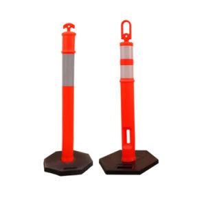 T-Top Parking Warning Post Traffic Delineator Post with Base(T-탑 주차 경고 후방 교통 지체 보조 장치 후방 후방 후방 후방