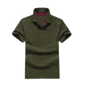 Kundenspezifisches/kundenspezifisches deutlich kleiden/Streifen-Drucken/Stickerei-Kleid-Baumwollpikee 100%/Golf-Polo-Hemden der Jersey-Kleid-Männer