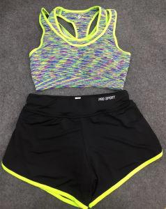 Mujeres Sexy Yoga sostén deportivo personalizado (CS03111)
