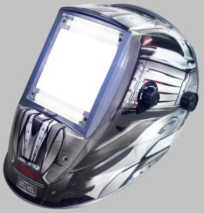 太陽動力を与えられた自動暗くなる溶接のヘルメット(WH9801355)