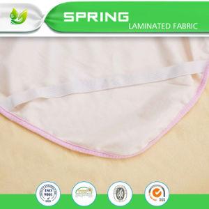 Impermeable Superior Poli algodón tela Terry Sábana plana con elástico