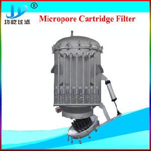 Pulso el filtro automático de la vela Jet