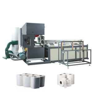 Registro de rollo Industrial automática Máquina de corte de sierra Maxi cortador de rollo de papel