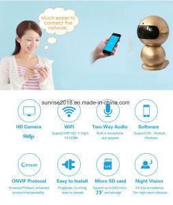 960p steuern drahtlose IP-Kamera-Sicherheits-videoüberwachung-Miniroboter-Kamera automatisch an