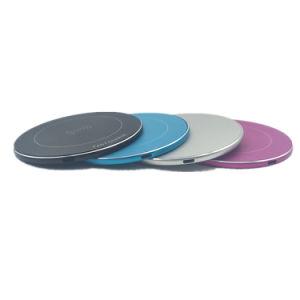 Aluminiumlegierungqi-schnelle drahtlose Aufladeeinheits-schnell drahtlose aufladenauflage 5V 2A