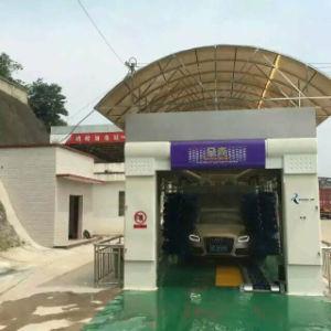 クリーニングの製造の工場速い洗浄のためのフルオートのトンネル車の洗濯機システム装置の蒸気機械