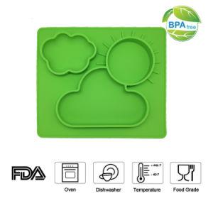 2017 Picece FDA Placemat de silicone de um tapete de mesa